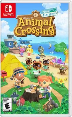 Animal Crossing new horizons Book cover