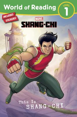 This is Shang-Chi Book cover