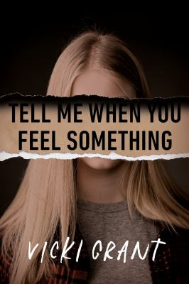 Tell me when you feel something Book cover