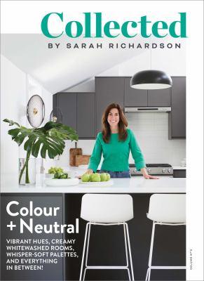 Collected. Volume no 3 Colour + neutral Book cover