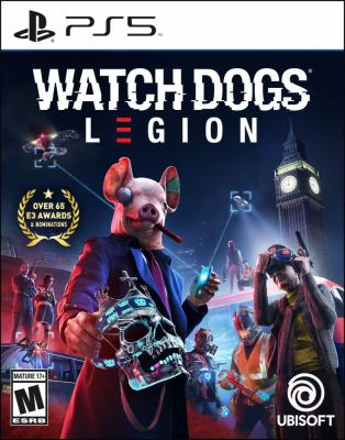 Watch dogs legion Book cover