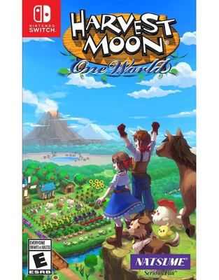 Harvest moon one world Book cover