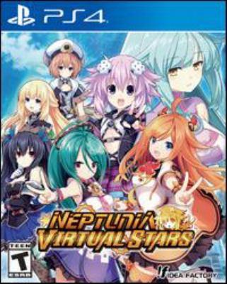 Neptunia virtual stars Book cover