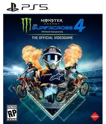Monster Energy Supercross, FIM World Championship 4 the official videogame Book cover