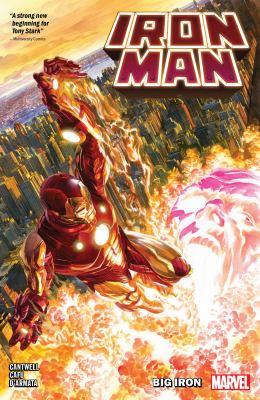 Iron Man. Volume 1 Big iron Book cover