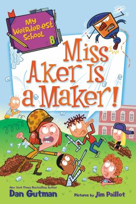 Miss Aker is a maker! Book cover
