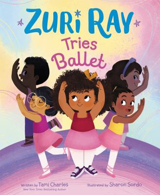 Zuri Ray tries ballet Book cover