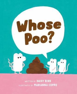 Whose poo? Book cover