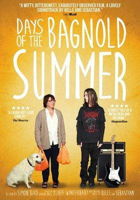 Days of the Bagnold summer Book cover