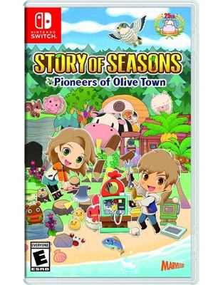 Story of seasons pioneers of Olive Town Book cover