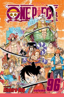 One piece. Volume 96 I am Oden, and I was born to boil Book cover