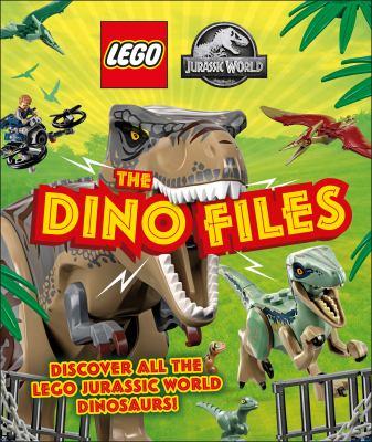 LEGO Jurassic World. discover all the LEGO Jurassic World dinosuars! The dino files Book cover