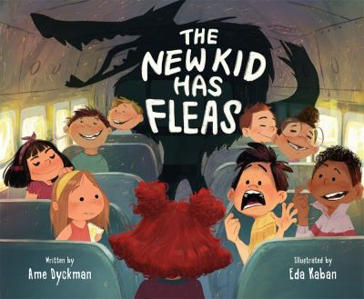The new kid has fleas Book cover