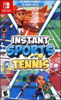 Instant sports tennis Book cover