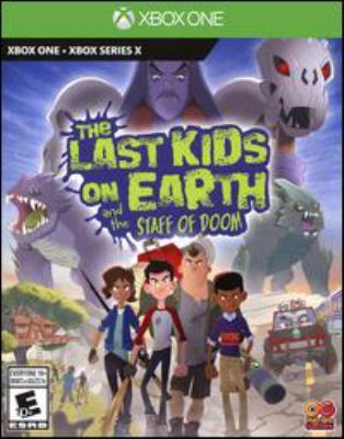 The last kids on Earth and the staff of doom Book cover