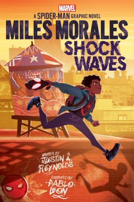 Miles Morales : shock waves : a Spider-Man graphic novel Book cover