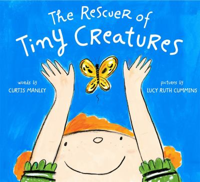 The rescuer of tiny creatures Book cover