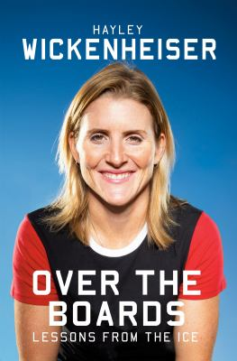 Over the boards : lessons from the ice Book cover
