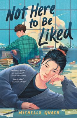 Not here to be liked Book cover