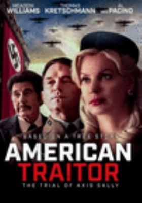American traitor : the trial of Axis Sally Book cover