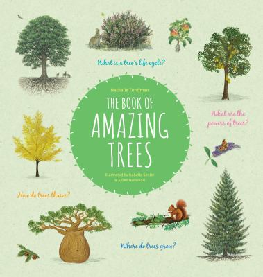 The book of amazing trees Book cover