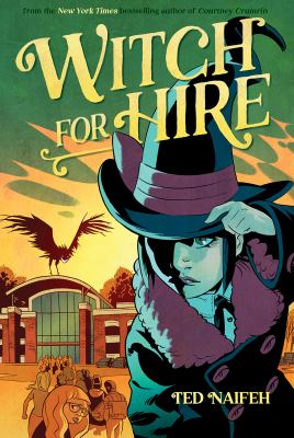 Witch for hire Book cover