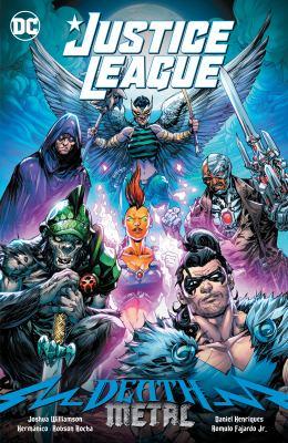 Justice League Death metal Book cover