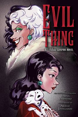 Evil thing a Villains graphic novel Book cover