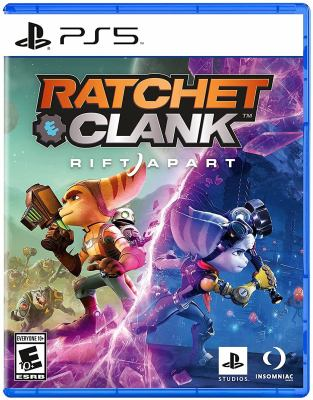 Ratchet & Clank rift apart Book cover