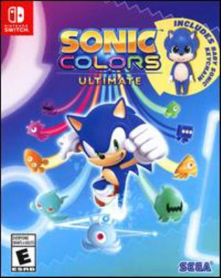 Sonic colors ultimate Book cover