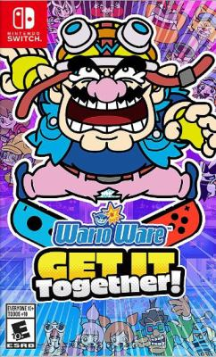WarioWare get it together! Book cover