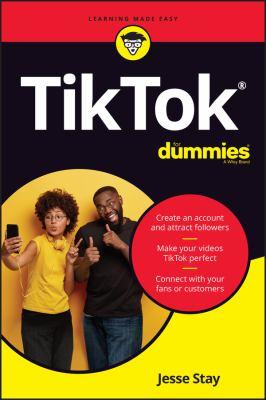 TikTok for dummies Book cover